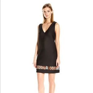 NWT French Connection Black Clara Eight Dress